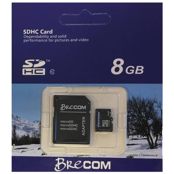 Bilde av BC-105/8- -Brecom minnekort Micro SD m/ adapter 8